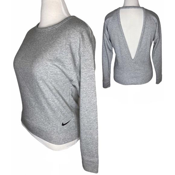 Nike Women's Open Back Sweatshirt Terrycloth